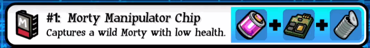 Pocket Morty Manipulator Chip